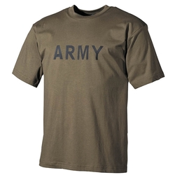 Triko US ARMY ZELENÉ velikost XL