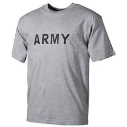 Triko US ARMY ŠEDÉ velikost XL