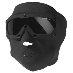Maska celoobličejová BASIC NEOPREN s brýlemi ČERNÁ