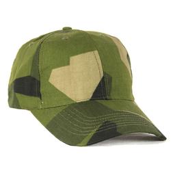 Čepice baseball s kšiltem ŠVÉDSKÉ maskování